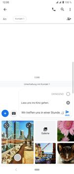 Sony Xperia 10 Plus - MMS - Erstellen und senden - Schritt 16