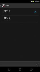 Sony Xperia V - MMS - Configurazione manuale - Fase 16