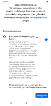 Samsung Galaxy S8+ - Android Pie (SM-G955F) - E-mail - 032a. Email wizard - Gmail - Stap 12