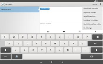 Sony Xperia Tablet Z2 LTE - MMS - Erstellen und senden - 13 / 22