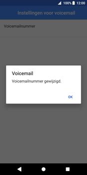 Sony Xperia XZ2 - Voicemail - Handmatig instellen - Stap 11