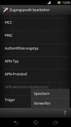 Sony Xperia T - MMS - Manuelle Konfiguration - Schritt 14