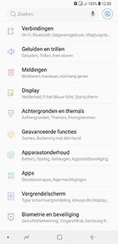 Samsung Galaxy A9 (2018) - wifi - handmatig instellen - stap 4