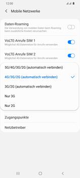 Samsung Galaxy S20 Ultra 5G - Netzwerk - So aktivieren Sie eine 5G-Verbindung - Schritt 7