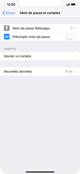Apple iPhone XS Max - E-mail - Configuration manuelle - Étape 5