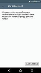 Sony F8331 Xperia XZ - Fehlerbehebung - Handy zurücksetzen - Schritt 9