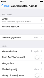 Apple iPhone 5c - iOS 8 - E-mail - handmatig instellen (gmail) - Stap 10