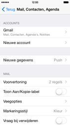 Apple iPhone 5c iOS 8 - E-mail - Handmatig instellen (gmail) - Stap 10