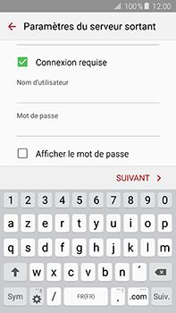 Samsung Galaxy A8 - E-mail - configuration manuelle - Étape 13