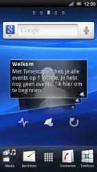 Sony Ericsson Xperia Neo V - MMS - automatisch instellen - Stap 1