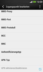 HTC Desire 500 - Internet - Manuelle Konfiguration - Schritt 12