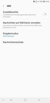 Samsung Galaxy J4+ - SMS - Manuelle Konfiguration - 8 / 12
