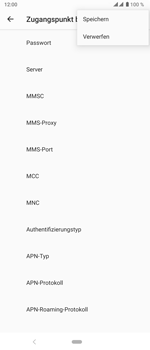 Sony Xperia 5 - MMS - Manuelle Konfiguration - Schritt 16