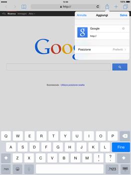 Apple iPad mini - iOS 8 - Internet e roaming dati - Uso di Internet - Fase 7