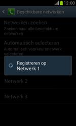 Samsung S7560 Galaxy Trend - Netwerk - Handmatig netwerk selecteren - Stap 12