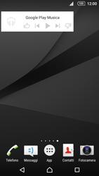 Sony Xperia Z5 - Operazioni iniziali - Installazione di widget e applicazioni nella schermata iniziale - Fase 7