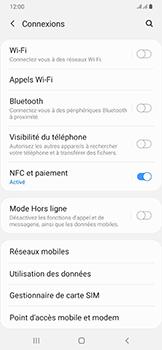 Samsung Galaxy A50 - Internet et roaming de données - Désactivation du roaming de données - Étape 5