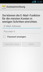 ZTE Blade III - E-Mail - Manuelle Konfiguration - Schritt 5