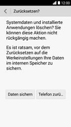 Huawei Ascend Y530 - Fehlerbehebung - Handy zurücksetzen - 10 / 11
