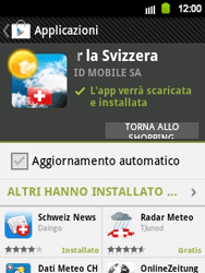 Samsung Galaxy Y - Applicazioni - Installazione delle applicazioni - Fase 16