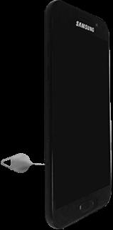 Samsung Galaxy A3 (2017) - SIM-Karte - Einlegen - Schritt 2