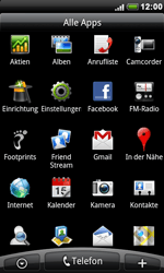 HTC Desire - WLAN - Manuelle Konfiguration - 3 / 10