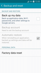Samsung A500FU Galaxy A5 - Device - Factory reset - Step 6