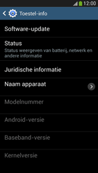 Samsung I9195 Galaxy S IV Mini LTE - software - update installeren zonder pc - stap 6