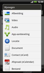 HTC S510b Rhyme - E-mail - E-mails verzenden - Stap 11