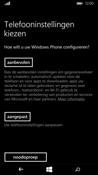 Microsoft Lumia 640 XL - Toestel - Toestel activeren - Stap 11