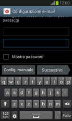 Samsung Galaxy Trend Lite - E-mail - configurazione manuale - Fase 6