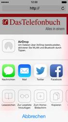 Apple iPhone 5 iOS 7 - Internet und Datenroaming - Verwenden des Internets - Schritt 14