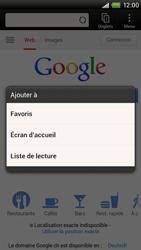 HTC One X - Internet et roaming de données - Navigation sur Internet - Étape 7