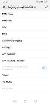 Huawei Mate 20 - Internet - Manuelle Konfiguration - Schritt 13