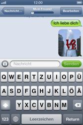 Apple iPhone 4 - MMS - Erstellen und senden - Schritt 15