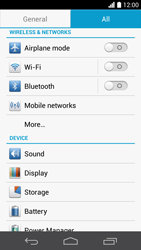 Huawei Ascend P6 - Network - Manual network selection - Step 4