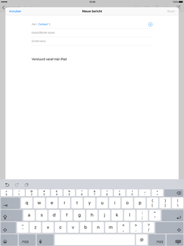 Apple iPad Pro - E-mail - E-mail versturen - Stap 6