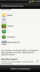 HTC Z520e One S - Fehlerbehebung - Handy zurücksetzen - Schritt 8