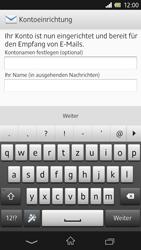 Sony Xperia Z - E-Mail - Konto einrichten - Schritt 14