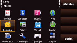 Nokia N97 Mini - MMS - Handmatig instellen - Stap 19