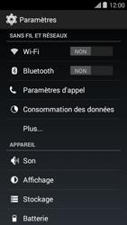 Bouygues Telecom Ultym 5 II - Aller plus loin - Désactiver les données à l'étranger - Étape 4