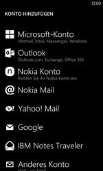 Nokia Lumia 1020 - E-Mail - Manuelle Konfiguration - Schritt 6