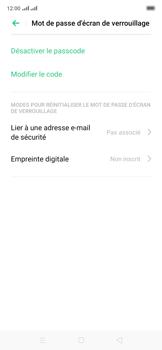 Oppo Reno 2Z - Sécuriser votre mobile - Activer le code de verrouillage - Étape 12