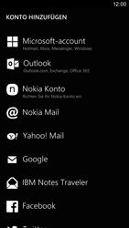 Nokia Lumia 1520 - E-Mail - Konto einrichten - Schritt 6