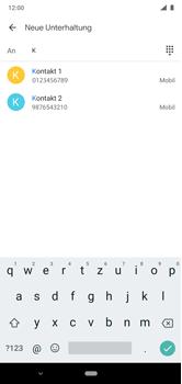 Nokia 6.1 Plus - Android Pie - MMS - Erstellen und senden - Schritt 8