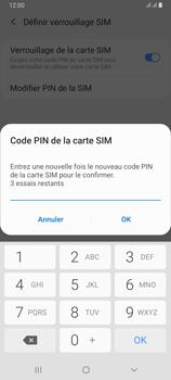 Samsung Galaxy A80 - Sécuriser votre mobile - Personnaliser le code PIN de votre carte SIM - Étape 11