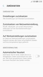 Samsung Galaxy A5 (2016) - Android Nougat - Gerät - Zurücksetzen auf die Werkseinstellungen - Schritt 6