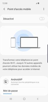 Samsung Galaxy S10e - WiFi - Comment activer un point d'accès WiFi - Étape 12
