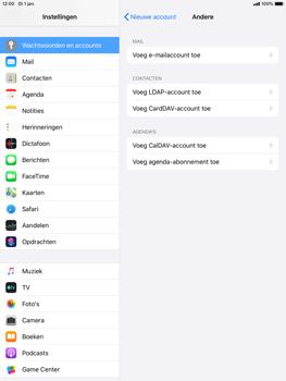 Apple ipad-air-2-met-ipados-13-model-a1567 - E-mail - Handmatig instellen - Stap 7