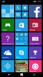 Microsoft Lumia 640 - Internet - Ver uso de datos - Paso 1